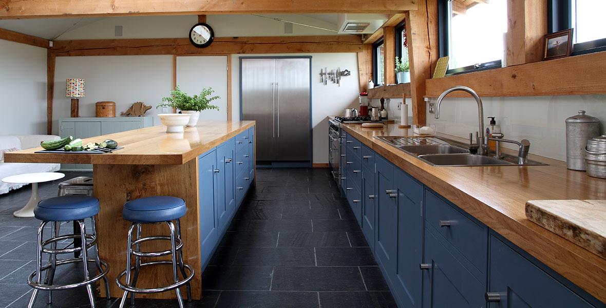 Bespoke Grey Shaker Kitchen