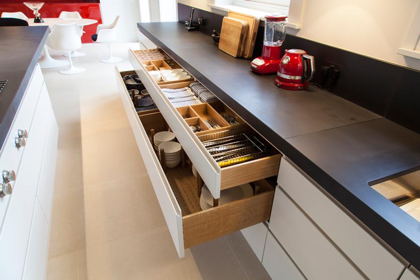 Studio One drawer storage