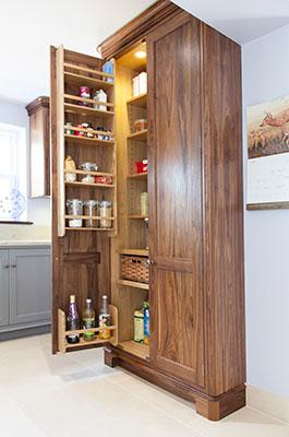 Bespoke, handmade kitchen cabinets